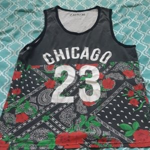 Carbon Chicago tank top